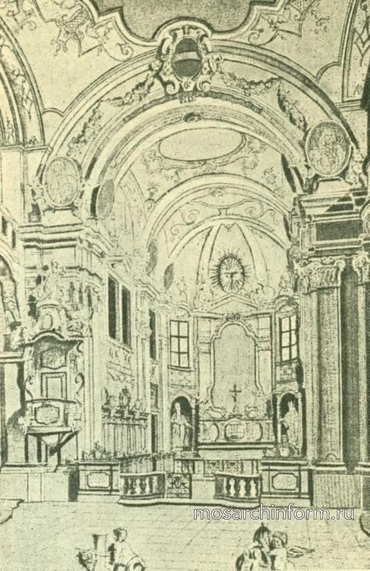 Интерьер церкви в Дюрнштейне. Важнейшие памятники периода Барокко и Рококо