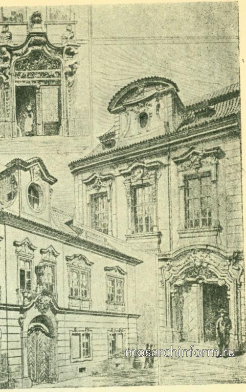 Порталы и фасады в Праге