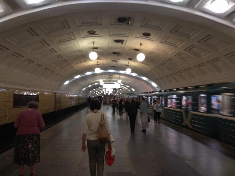 Станция метро Библиотека имени Ленина - Фото пользователей сайта фото