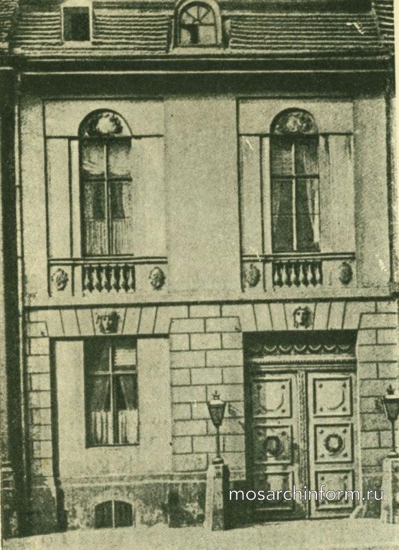 Архитектура неоклассицизма в Германии и Австрии Жилой дом на Вильгельмштрассе 76, в Берлине