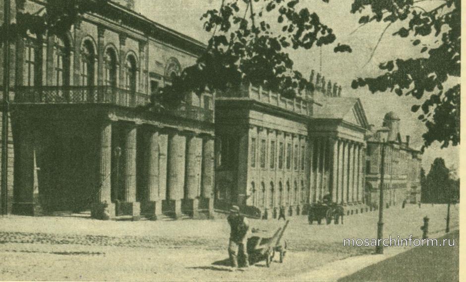 Архитектура неоклассицизма в Германии и Австрии - Красный дворец и Фридриховский музей в Касселе