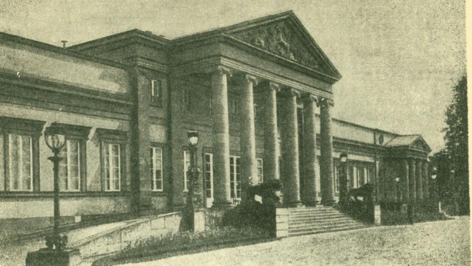 Архитектура неоклассицизма в Германии и Австрии Дворец Розенштейн в Штутгарте