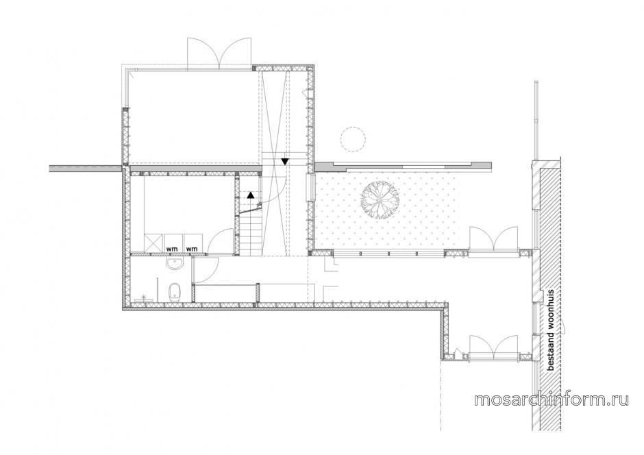 Расширение дома от ахитектурного бюро Rich}