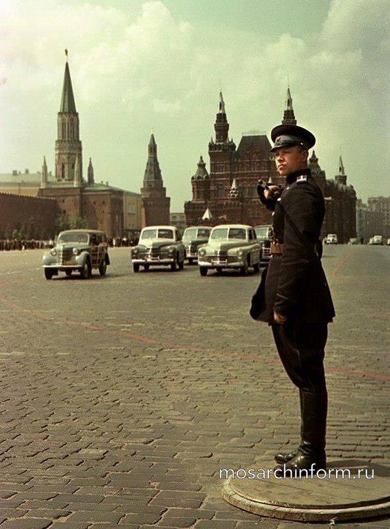 Автомобильное движение на Красной площади. - Фото пользователей сайта фото