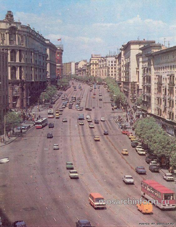 Тверская улица, Москва - 80-е годы - Фото пользователей сайта фото