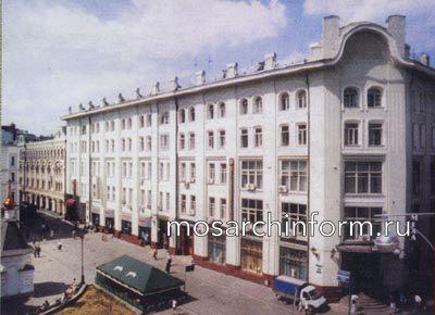 Москва Столешников пер., 13/15 - Фото пользователей сайта фото