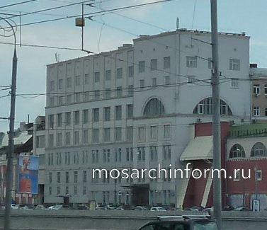 Раушская набережная, дом 8, Москва