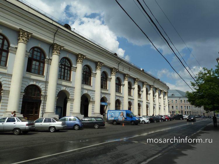 Старый Гостиный двор в Москве, Рыбный переулок, 3