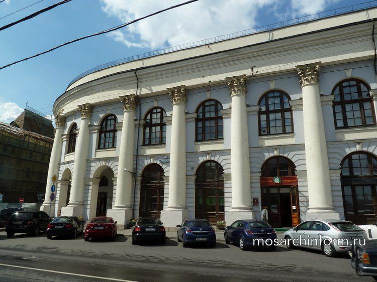 Старый Гостиный двор в Москве, Рыбный переулок, дом 3
