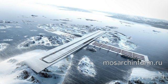 Связывая Гренландию: Аэропорт+Порт от архитектурного бюро BIG