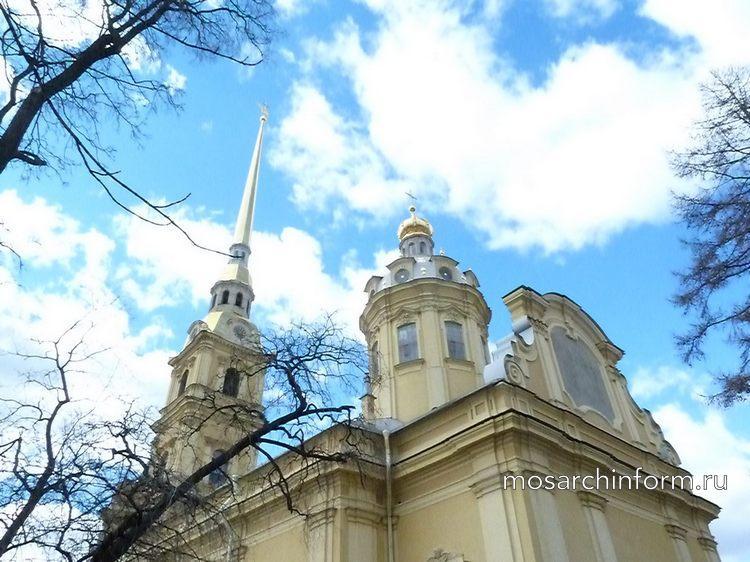 Петропавловский собор - Архитектура России 18 века