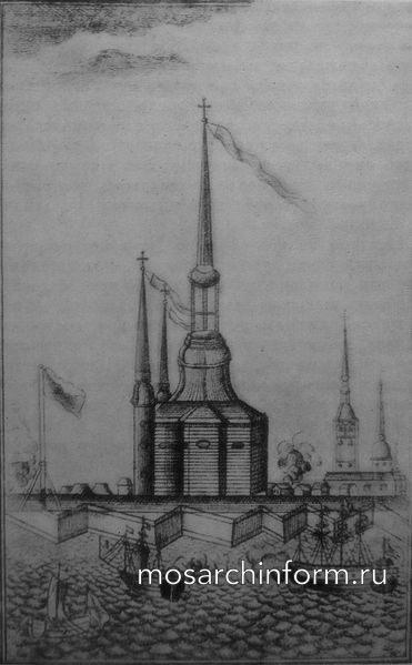 Деревянный Петропавловский собор
