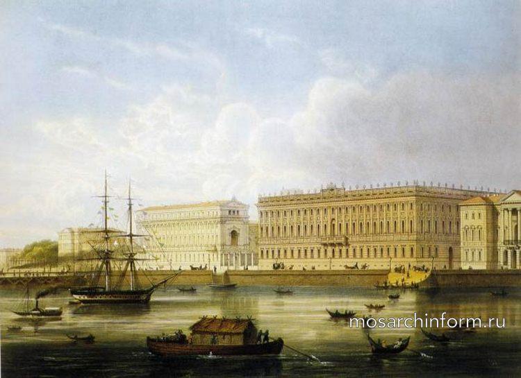 Мраморный дворец - Архитектура России 18 века