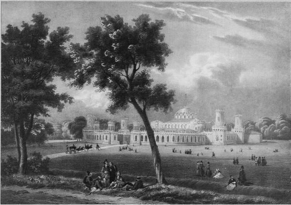 Петровский путево́й (подъездной) дворец на Тверском тракте, архитектор Казаков - Архитектура Москвы 18 века