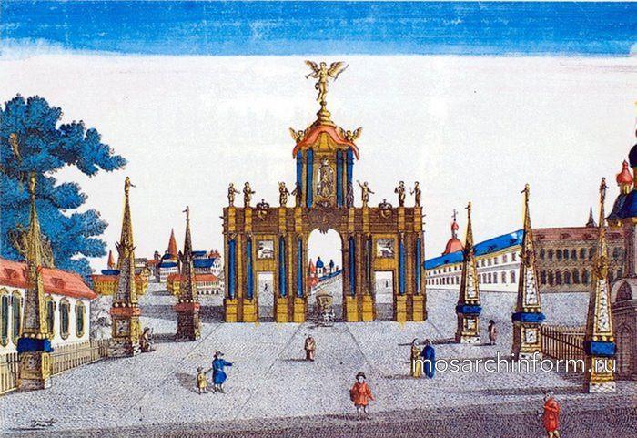 Красные ворота - Архитектура Москвы 18 века