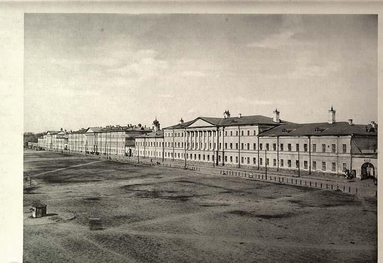 Хамовнические казармы, архитектура Москвы до пожара 1812 года - 19 век