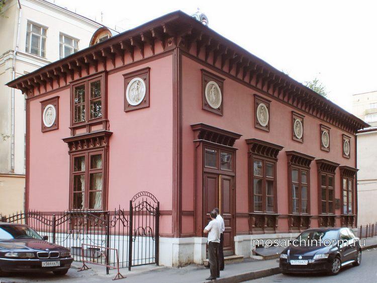 Дом архитектора М.О.Лопыревского Калошин пер.12 - Архитектура Арбата сегодня