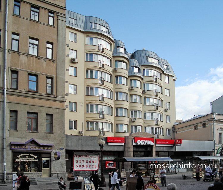 Жилой дом ул.Арбат,д.19 - Архитектура Арбата сегодня