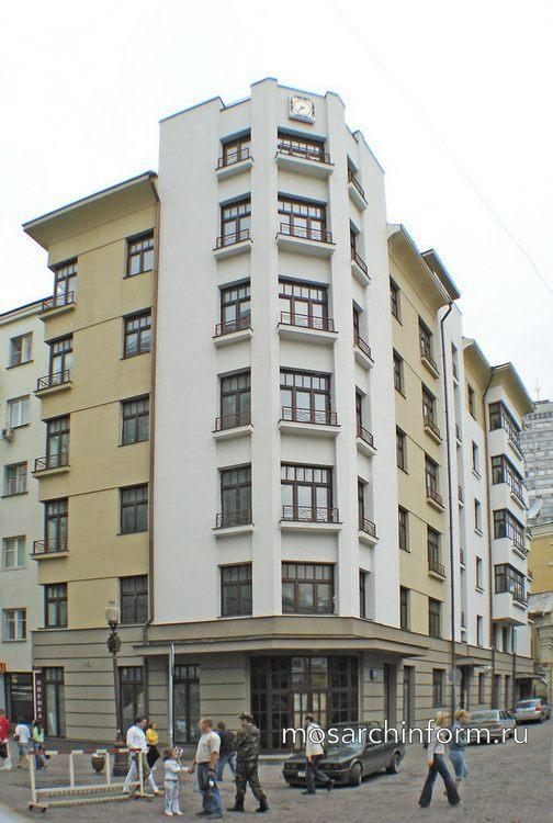 Жилой дом ул.Арбат, д.20  - Архитектура Арбата сегодня