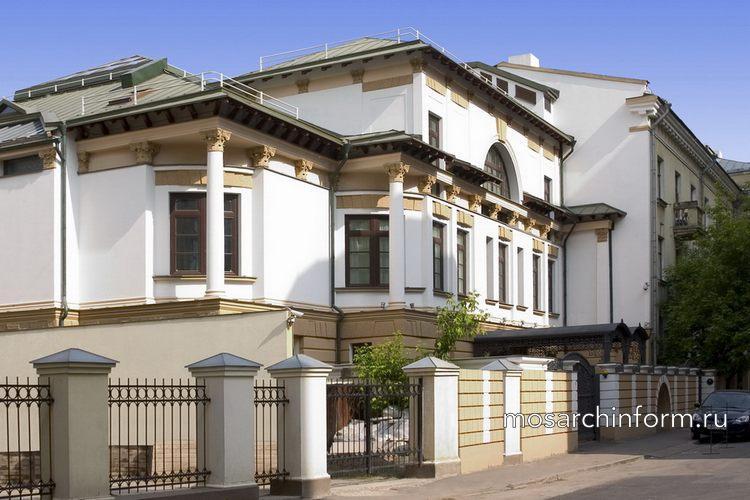 Жилой дом Филипповский пер. дом 8   - Архитектура Арбата сегодня