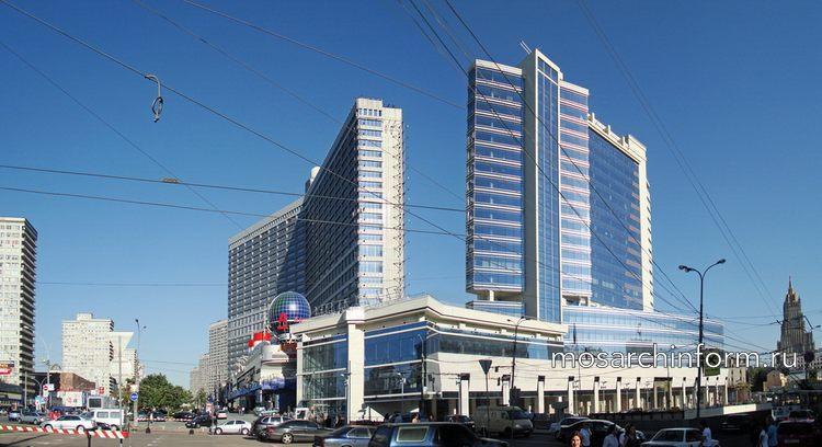 Многофункциональный комплекс Новинский бульвар,8-10 - Архитектура Арбата сегодня
