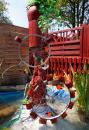 Парковый дизайн - необычный фонтан - Международная садовая выставка IGS-2013 в Гамбурге (Германия)