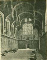 Замок Гэмпюн Коорт (большой зал) - Готическая архитектура Нидерландов