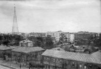 Фото пользователей сайта - Вид на Шуховскую башню в довоенной Москве
