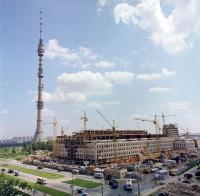 Фото пользователей сайта - Строительство Аппаратно-студийного комплекса АСК-3 телецентра Останкино, 1977: