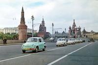 Фото пользователей сайта - Колонна Запорожцев в Москве. 1960 год. Красная площадь