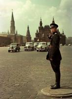 Фото пользователей сайта - Автомобильное движение на Красной площади.